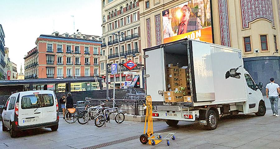 El ayuntamiento de Madrid apostará por modelos de micrologística para el reparto de mercancía en el centro de la ciudad.