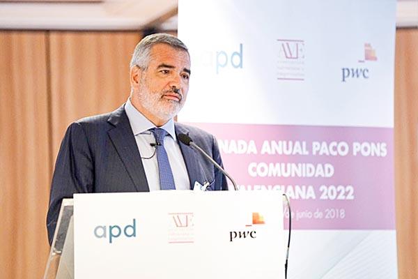 Adolfo Utor, presidente de la naviera valenciana Baleària.
