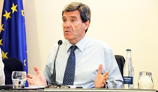 Aurelio Martínez, presidente del puerto de Valencia.