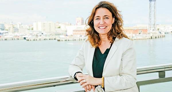Mercè Conesa, presidenta del puerto.