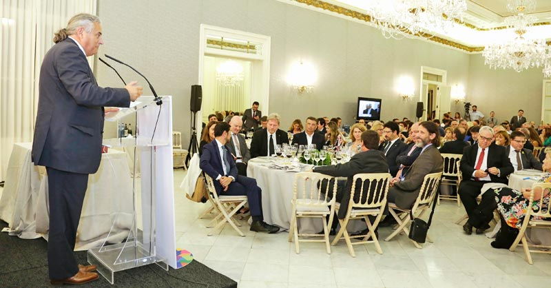 Intervención de Enric Ticó, actual presidente de Feteia.