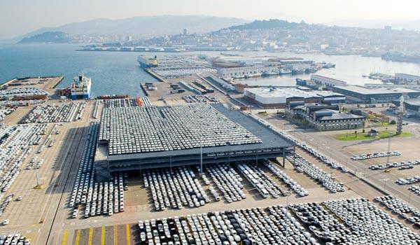 """La apertura de la ampliación del silo de vehículos de Vigo se ha desarrollado en una situación de """"urgencia""""."""