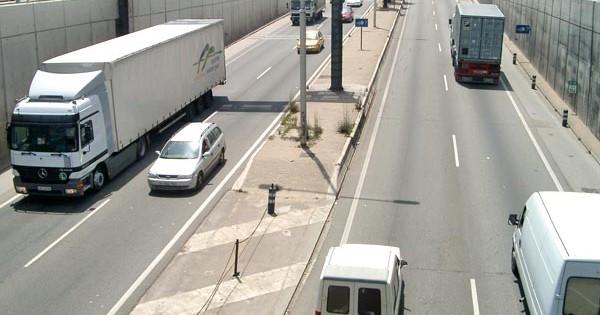 España ha caído en 50 por ciento en su actividad en la carretera.