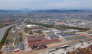 Vista aérea de la ZAL.