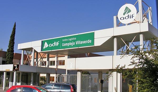 Semat gestionará la campa de automoción de El Salobral, dentro de la terminal Villaverde-Mercancías de Adif.