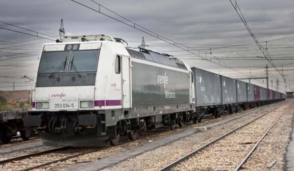 Renfe Mercancías ha pasado del 79 por ciento de cuota de mercado en tren-kilómetro en diciembre de 2014 al 64 por ciento en abril de 2020.