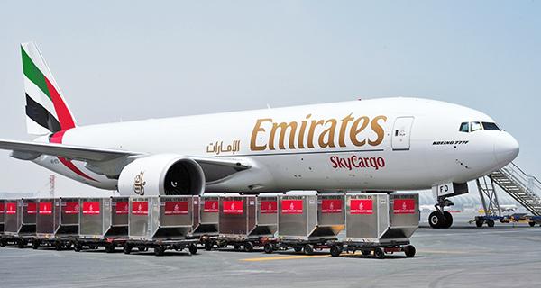 Emirates recupera el mercado de la carga.