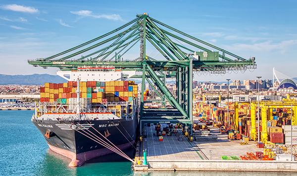 El futuro muelle podrá albergar la escala de 4 buques de más de 24.000 TEUs de forma simultánea.