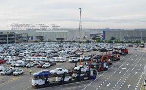 Centro de distribución de Nissan.