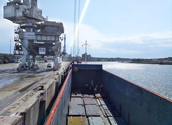 Laminoirs des Landes se sube al barco