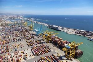 Cae el tráfico portuario, aun sin el impacto del Covid-19