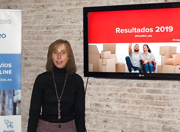 Noelia Lázaro, directora de Marketing de la plataforma tecnológica de contratación de envíos de paquetería Packlink.