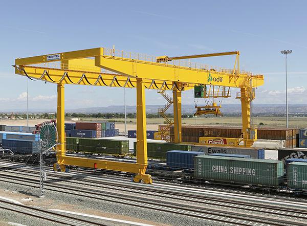Adif ultima un novedoso 'Plan de reactivación del transporte de mercancías por ferrocarril'.