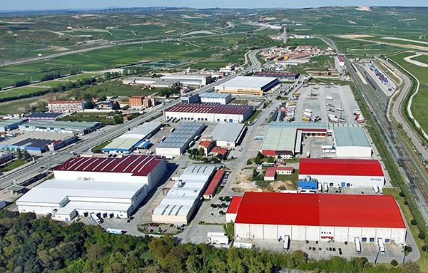 Centro de Transportes Aduana de Burgos superará el medio millón de metros cuadrados tras su ampliación. Foto: CT Burgos