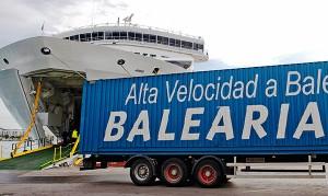 Baleària opera tráficos de Baleares. F: V.-Giménez