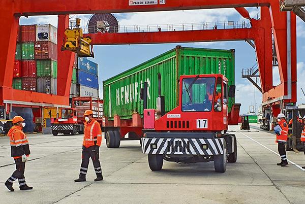 En el caso del transporte de productos de primera necesidad, la inflación de tráficos resulta evidente en las últimas semanas.