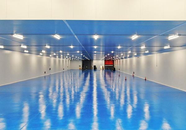 Imagen de las nuevas instalaciones de Transfesa Logistics en Valencia.
