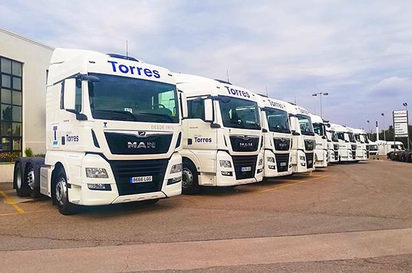 Nuevas tractoras de Grupo Torres.