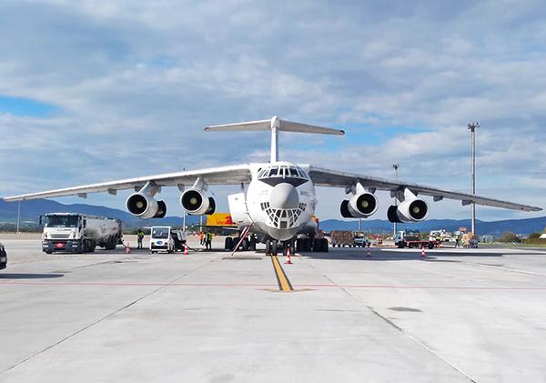DHL sostiene el tráfico de carga aérea en Vitoria