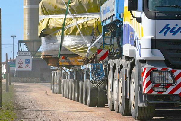 El transporte especial, en contra de la exigencia del certificado de inviabilidad ferroviaria.