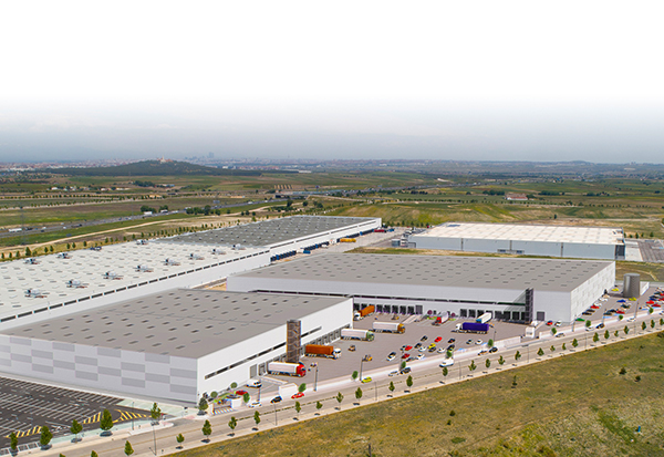 Complejo logístico de Palm Capital en el polígono Los Gavilanes de Getafe (Madrid).