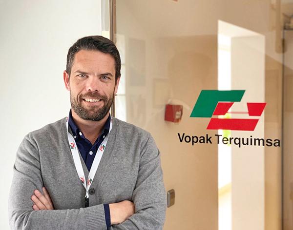 Eduardo Sañudo, director general de Vopak Terquimsa.