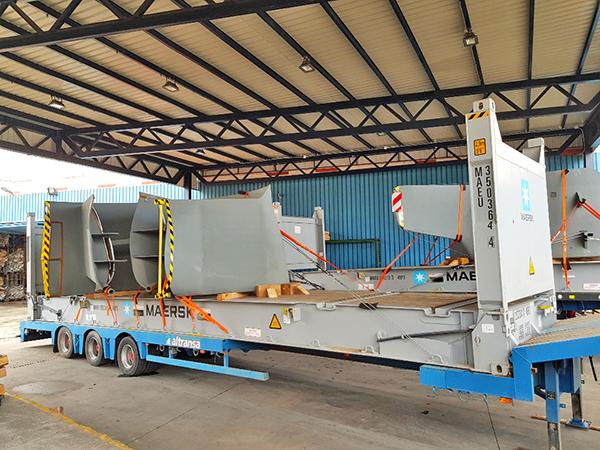 Glogistic agilizará el tráfico de productos sobredimensionados en el puerto de Algeciras.