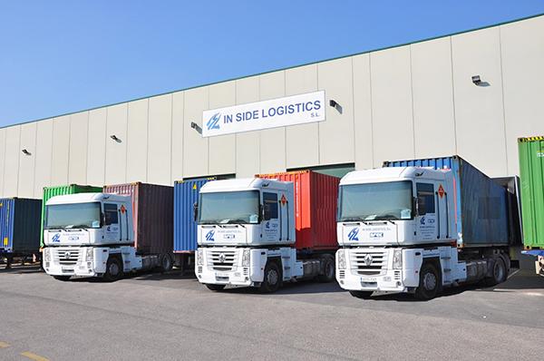 Instalaciones de In Side Logistics en Valencia.