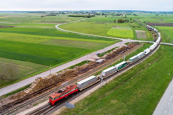 Con estos transportes intermodales se espera ampliar la conexión entre centro Europa y la repúblicas bálticas.