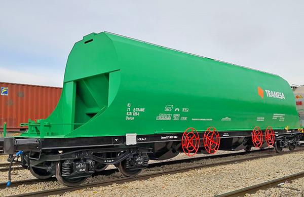Tramesa abre servicio ferroviario entre Portugal y España