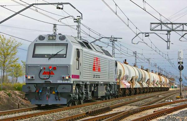 Low Cost Rail dispone de nueve locomotoras en su flota de material de tracción. Foto: LCR
