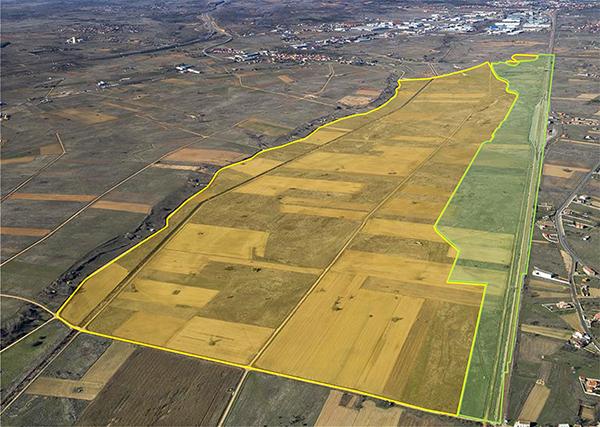 Simulación del Ministerio de Transportes del proyecto de plataforma intermodal de León.