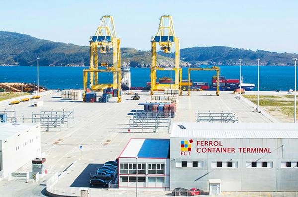 Imagen de las instalaciones de Yilport Ferrol.