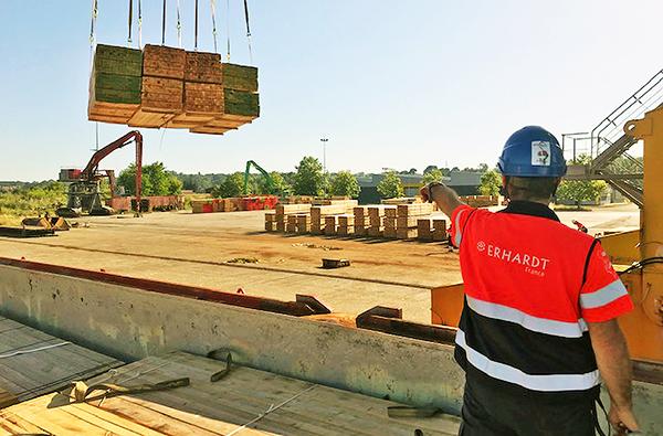 Erhardt sumará el 'project cargo' en el puerto de Bayona