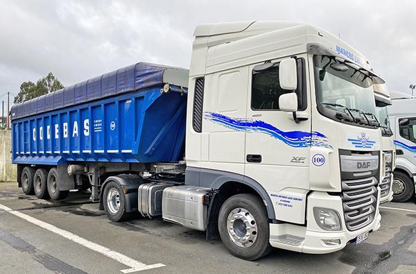 Imagen de uno de los nuevos vehículos incorporados a la flota de Codebas.