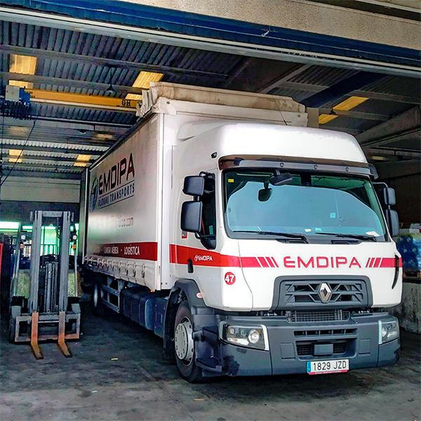 Emdipa supera el centenar de unidades de vehículos en su flota. Foto: Timocom