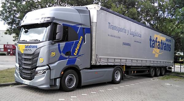 Tafatrans ha diversificado su negocio tradicional de carga completa en los últimos años.