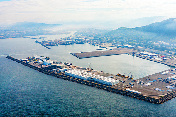 SLP reducirá su huella ambiental en el puerto de Bilbao