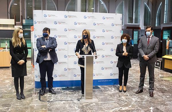 Las administraciones han mostrado su apoyo al proyecto de ZAL del puerto de Huelva.