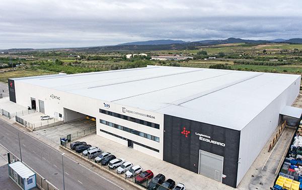 Imagen de las nuevas instalaciones de Logística Ezquerro en Calahorra.